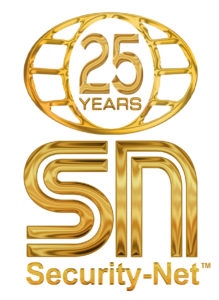 Security Net 25 Year Logo